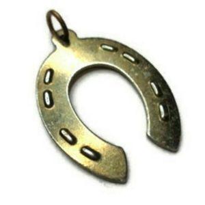 Vintage Horse Shoe Necklace Pendant